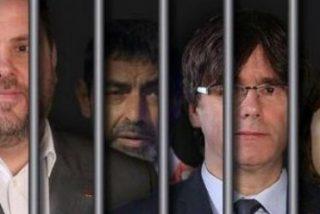 Puigdemont y el resto de golpistas del 'procés' serán empapelados por sedición o conspiración para la rebelión
