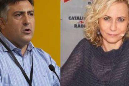 La musa radiofónica del separatismo agacha la cabeza cuando Puigcercós le echa la bronca por relajarse con la causa