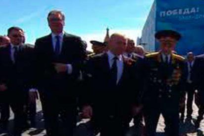 Así defiende Putín a un veterano de la agresión de sus propios guardaespaldas