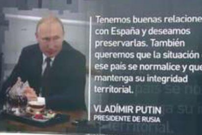 """Putin sobre Rajoy: """"Tenemos buenas relaciones con España y deseamos preservarlas"""""""