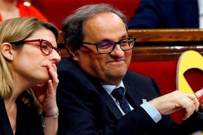 El Parlamento catalán no elige a Quim Torra, solo ratifica lo que ha designado el delincuente Puigdemont