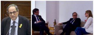 """Quim Torra, el xenófobo títere que pretende colocar el prófugo Puigdemont: """"España sólo sabe expoliar"""""""