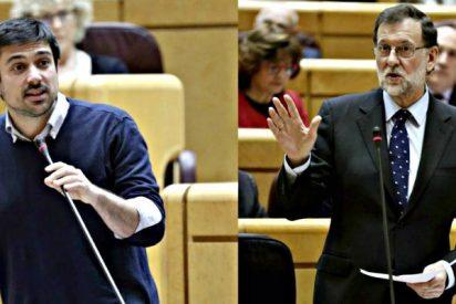 Rajoy pega un zasca a Espinar con la beca-black de Errejón que lo deja sentado