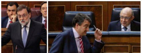 ¡Tiembla, Mariano! El apoyo del PNV a tus Presupuestos esconde una carga de dinamita separatista