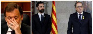 """Tertsch apalea a Rajoy por permitir la última burla golpista: """"Torra no quería ministros y el Gobierno se humilló y obedeció al racista"""""""