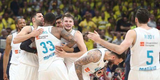 El Real Madrid derrota al Fenerbahçe y gana su décima Copa de Europa de baloncesto