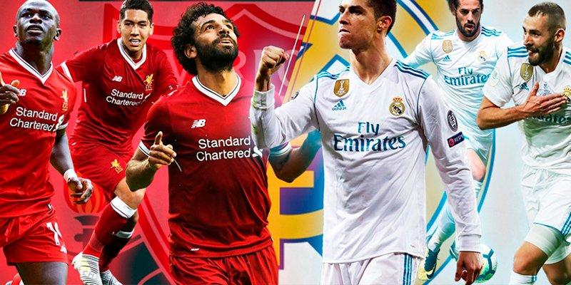Duelo de super tridentes en la final Real Madrid-Liverpool