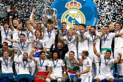El Real Madrid hace historia y gana su decimotercera Copa de Europa, la tercera consecutiva, tras derrotar al Liverpool (3-1)