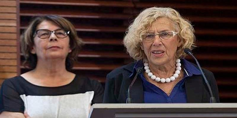 La alcaldesa Carmena y sus compinches de Podemos celebran un aumento del 350% en atasco en Madrid