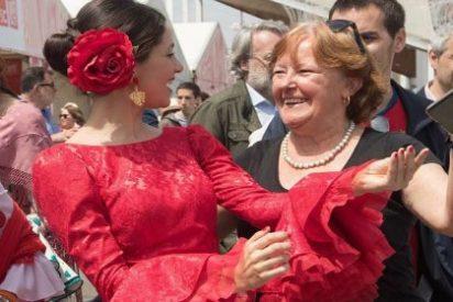 El saleroso baile por sevillanas de Arrimadas que pone rojos de rabia a los insulsos 'indepes'