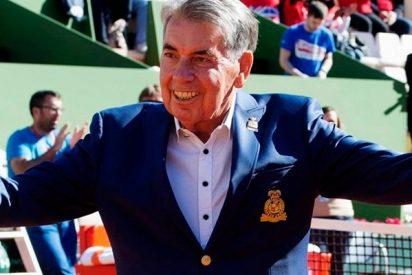 Así fue la super fiesta sorpresa por el 80 cumpleaños de Manolo Santana en el Mutua Madrid Open