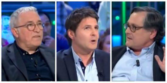 """Marhuenda acribilla de un broncazo a los 'juristas' Sardá y Cintora: """"Me acojona que seáis un tribunal popular"""""""