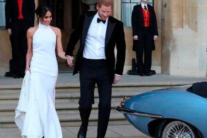 Descubre todos los detalles del segundo look de Meghan Markle que lució en su boda