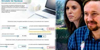 A ningún español 'normal' le hubieran dado la hipoteca de Pablo Iglesias e Irene Montero: euríbor + ¡0,50%!
