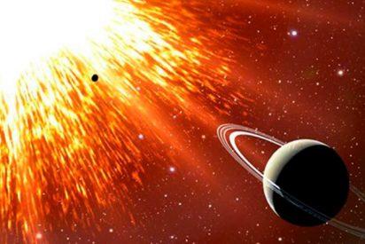 Captan por primera vez fuera de la galaxia un extraño tipo de supernova