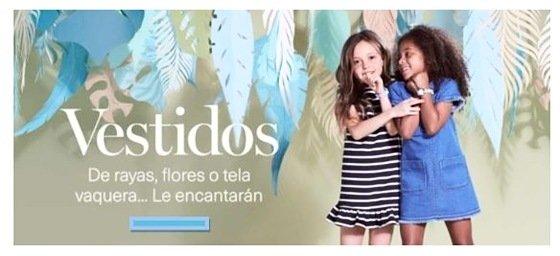 Tendencias de moda para niños primavera-verano
