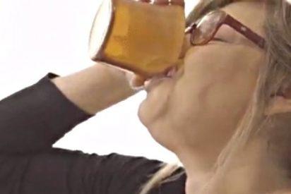 Terelu Campos es adicta al Cola-Cao y se los zampa de un trago