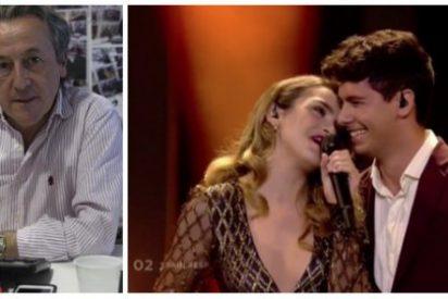 """El soberbio puntazo de Tertsch sobre Alfred y Amaia con recado a Ana Pastor: """"Te cagas en España y te besa Ferreras"""""""
