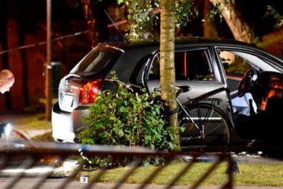 Momento del brutal tiroteo que dejó 4 heridos en Guadalajara
