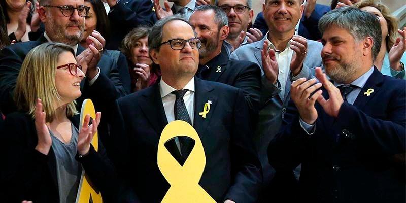 Los golpistas catalanes reconquistan la Generalidad de Cataluña con el visto bueno del Gobierno de España