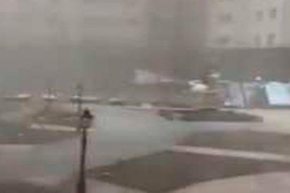 Así es la tormenta apocalíptica que arrasa Kazajistán