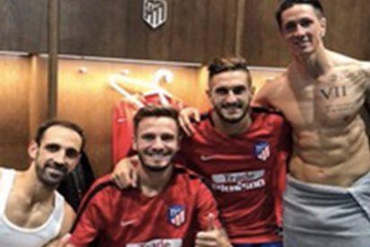 Esta foto de Torres en toalla corre como la pólvora por su 'exceso de felicidad'