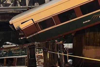 Imágenes de cómo se vivió desde dentro el accidente de un tren de pasajeros en Canadá
