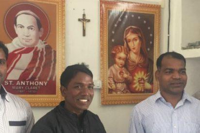 """Así construyen la Iglesia tres sacerdotes claretianos en la India: """"Dónde hay un católico, hay paz"""""""