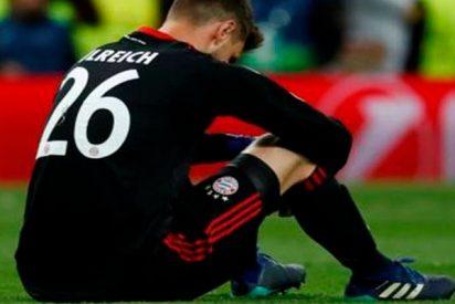 Ulreich se explica por su desafortunado error en el Bernabéu
