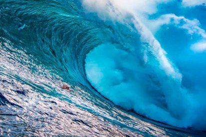 Registran una ola monstruosa al sur de Nueva Zelanda