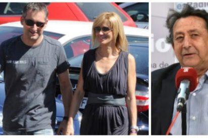 """Alfonso Ussía no se corta un pelo y pone de vuelta y media al marido separata de Griso: """"Grosero incoherente"""""""