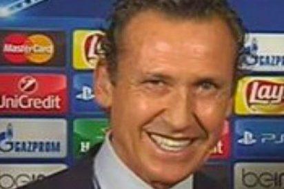 Valdano la lía parda con este comentario en el minuto 1 del Marsella-Atlético de Madrid