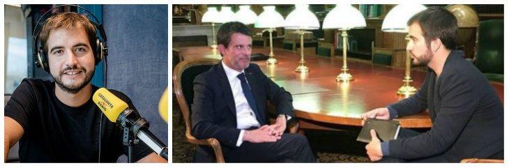 """TV3 somete a un examen de 'barcelonidad' a Manuel Valls: """"¿Cuántos barrios tiene Barcelona? ¿Cuál tiene menor renta?"""