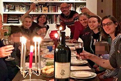 Viggo Mortensen disfruta de la compañía de la familia independentista de su novia Ariadna Gil