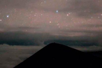 Así se vivió la erupción del volcán Kilauea bajo el cielo estrellado de Hawái