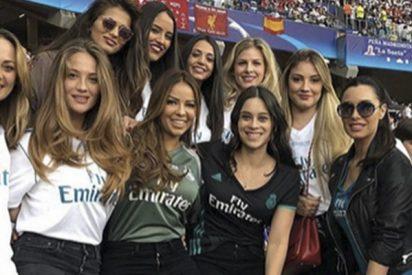 Georgina Rodríguez pasó olímpicamente de salir en esta foto con todas las WAGs del Real Madrid