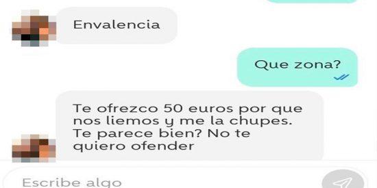 La obscena oferta de un hombre a una niñera de Valencia obliga a Wallapop a tomar medidas