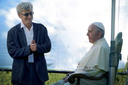 """Wim Wenders: """"Francisco es un hombre que cumple lo que dice"""""""