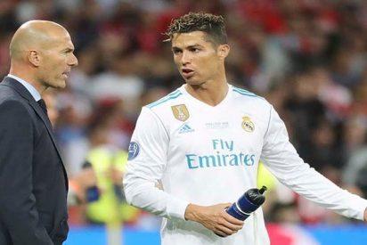 Champions: Ni imaginas lo que ocurrió detrás de Zidane tras anular el árbitro un gol a Benzema