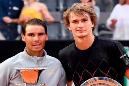 Open de Roma: Nadal gana a Zverev en una final extraña y vuelve a ser Nº 1 del Mundo