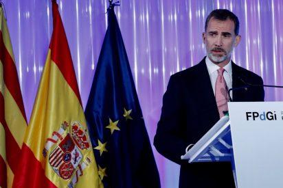 """La lección del Rey en Gerona reafirmando su """"compromiso con una Cataluña de todos y para todos"""""""