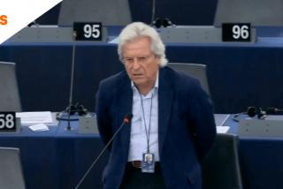 El discurso de Javier Nart en la Eurocámara que deja tiritando a Sánchez por cuenta del 'Aquarius'