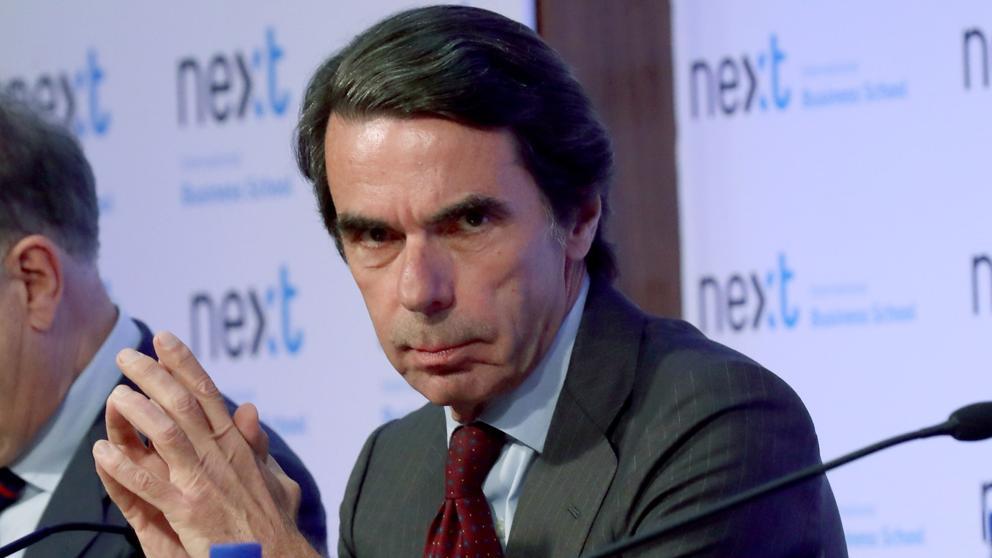 Las soberanas hostias de Aznar a diestro y siniestro por no querer comulgar con nadie