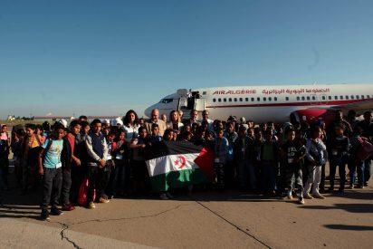 Llegan a Castilla y León los primeros niños saharauis de 'Vacaciones en Paz'
