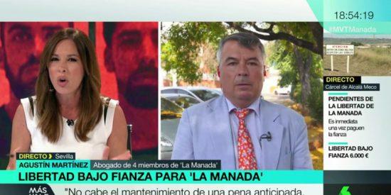 El tremendo rapapolvo del abogado de 'La Manada' a una descolocada Mamen Mendizábal