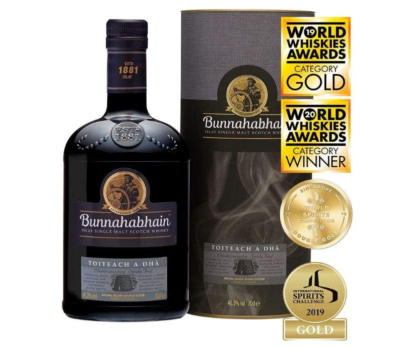 unnahabhain Toiteach A DHÀ Single Malt Scotch Whisky