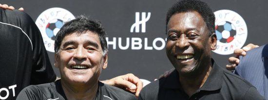 ¿Ha sido Maradona el mejor fubolista de la Historia o fue mejor Pelé?