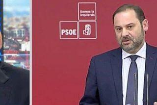 La tremenda jeta de Ábalos (PSOE) y su penosa reacción cuando le sacan sus propias indecentes incongruencias