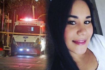Este terrible choque entre un taxi y una moto se cobra la vida de una chica