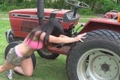 Vas a alucinar con los superpoderes de esta chica agricultora